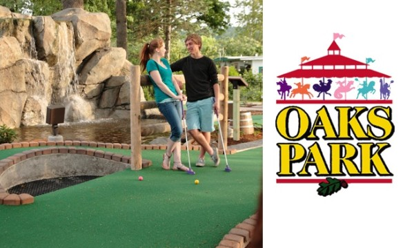 Oaks Park Ride Bracelets, Mini Golf, and Skating August 2017