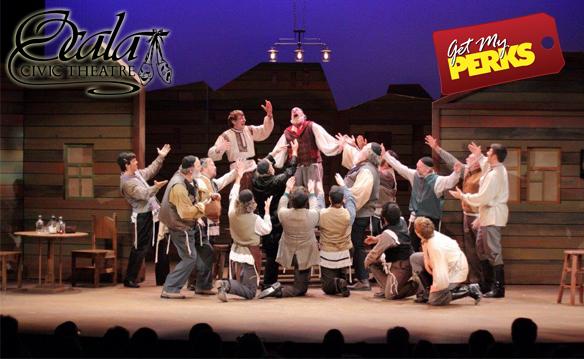 """Ocala Civic Theatre """"I Love a Piano"""" Jan 11th-Feb4th"""