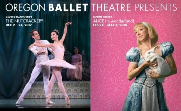 Oregon Ballet Theatre 2017 - Nutcracker + Alice