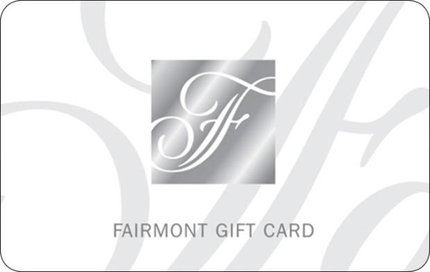 FAIRMONT $100 Gift Card