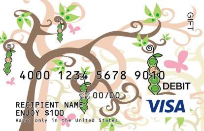 Peapod Visa Gift Card