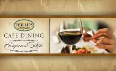 Enjoy $40 for only $20 at Phillips European Restaurant