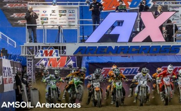 Half Price tickets to AMSOIL Arenacross at Veterans Memorial Coliseum on Saturday, April 21st
