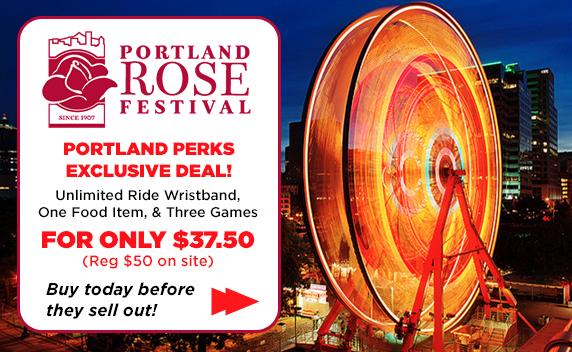 Portland Rose Festival Unlimited Rides Wristband 2018