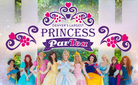 You're Invited to Denver's Largest Princess ParTEA