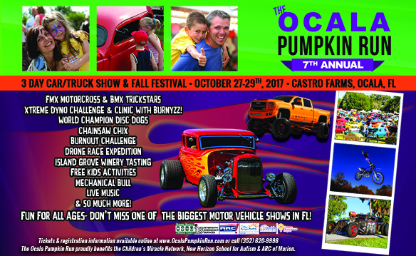 Pumpkin Run Vehicle Registration