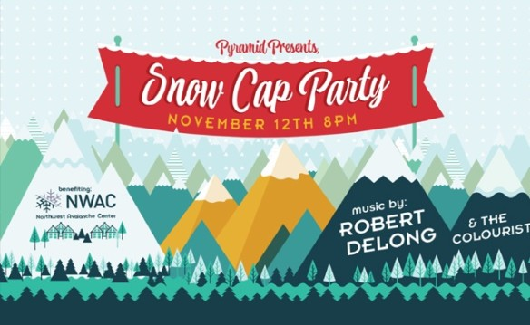 Pyramid's Snow Cap Party with Robert DeLong and The Colourist