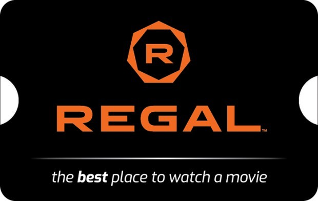 Buy a $50 Regal Entertainment Group eGift Card, Get $10 Off