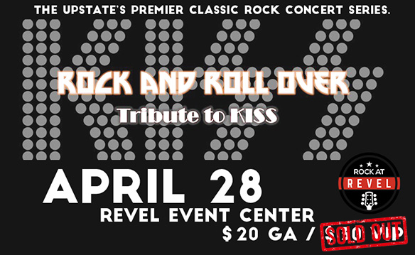 Rock at Revel featuring Rock and Roll Over - Tribute to KISS - April 2017