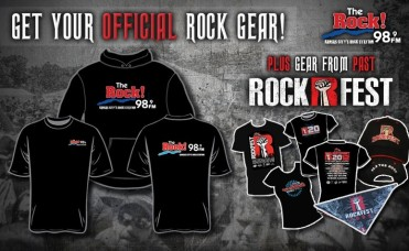 Official 98.9 The Rock Merchandise