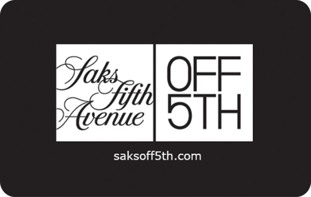 Saks Fifth Avenue Off 5th Gift Card Giftcardmall Com