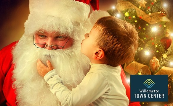 Santa Pictures at Willamette Town Center
