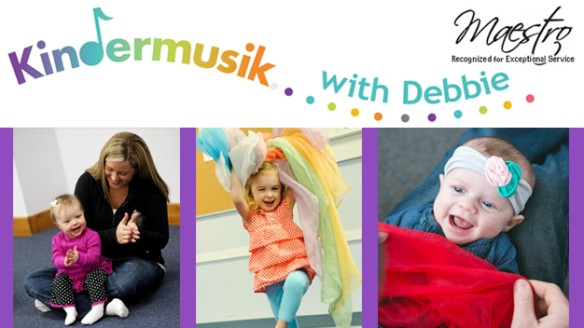 Save on Kindermusik with Debbie Classes