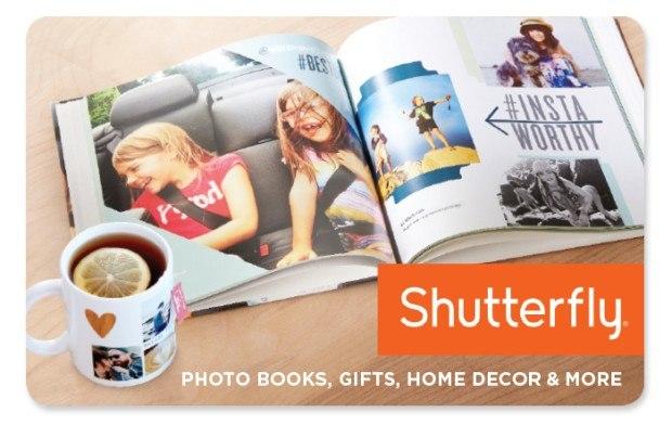 shutterfly e gift card