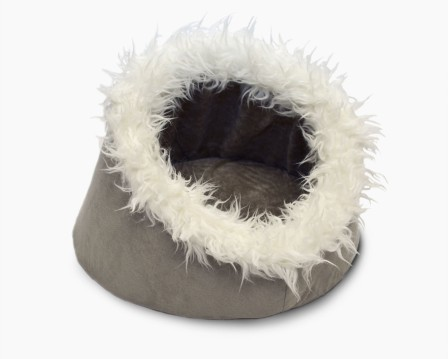 NATIONAL BLOG - NETWORK - Small Dog / Cat Beds - Ultra plush cup, hooded dome, cave
