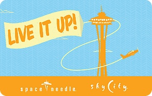 Space Needle Live It Up eGift Card