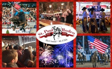 St. Paul Rodeo 4 Pack of tickets 2018