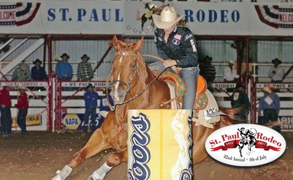 St. Paul Rodeo Admission and One T-shirt for $20 2018