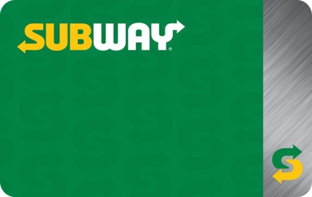 Save $10 off a $50 Subway eGift Card