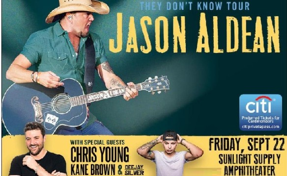 Suite ticket + STAR Experience for Jason Aldean on September 22nd