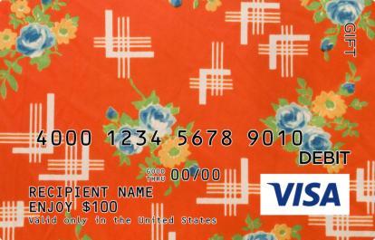 Tablecloth Visa Gift Card