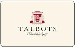 talbots gift card balance