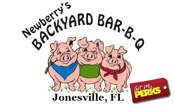 Pay $12.50 for $25 Worth of Tasty Newberry's Backyard BBQ Jonesville