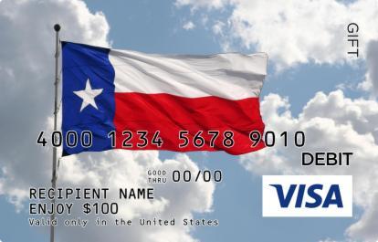 texas flag visa gift card giftcardmallcom - Visa Gift Card Canada