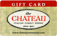 The Chateau Restaurant Gift Card