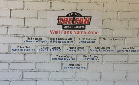 The Coca-Cola Doghouse Wall of Fame