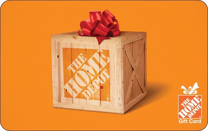 The home depot gift card for Home depot wedding gift registry