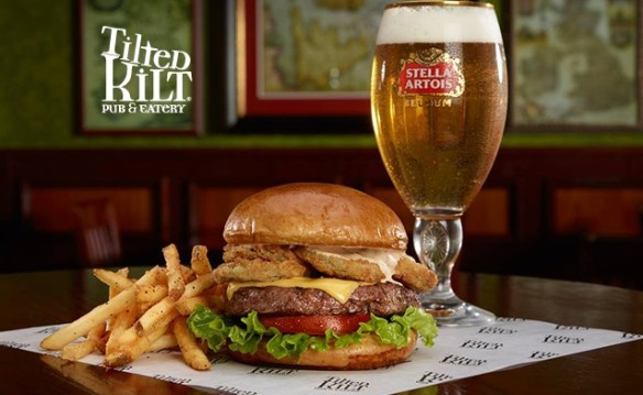 Tilted Kilt Pub & Eatery August 2017 Deal