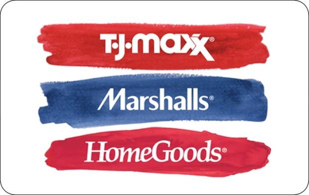 TJ Maxx $100 Gift Card