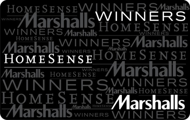 Winners, Marshalls and HomeSense eGift Card from TJX