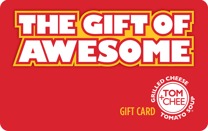 Tom Chee Gift Card