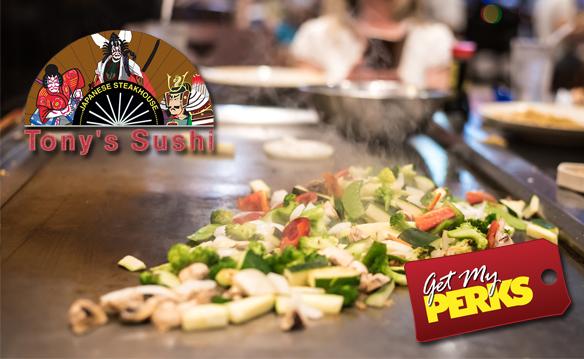 Gainesville Tony's Sushi 10.09.17
