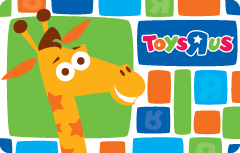 """Toys """"r"""" Us Gift Card"""