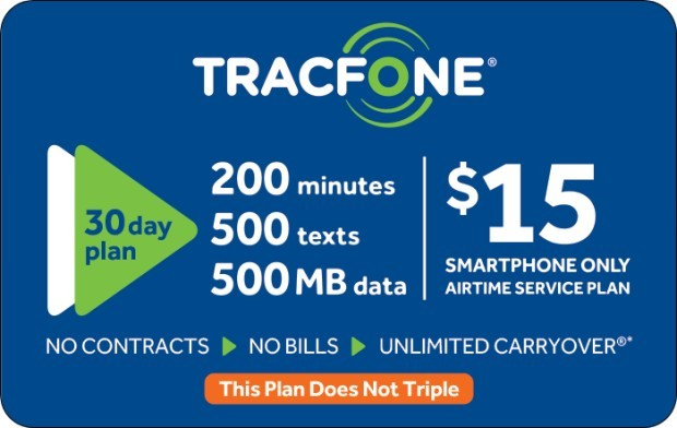 Save 10% off $35 TracFone Prepaid Phone Card (e-delivery)