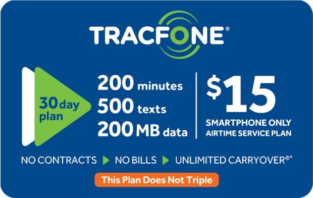 Save 20% off of a $35 Tracfone Prepaid Phone Card (e-delivery)
