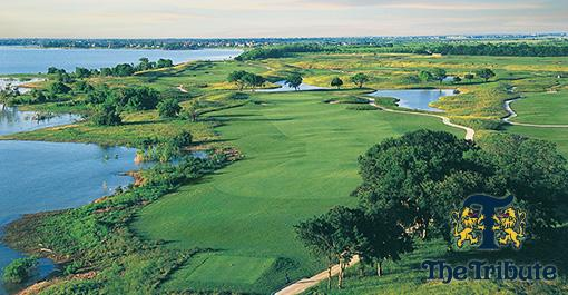 Play Scottish themed, The Tribute Golf Club in The Colony! Save over $80 per Round!