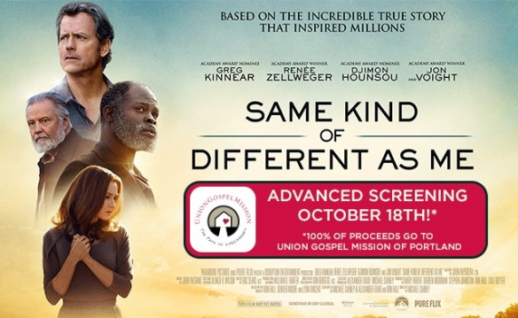 Union Gospel Mission - Same Kind of Different As Me