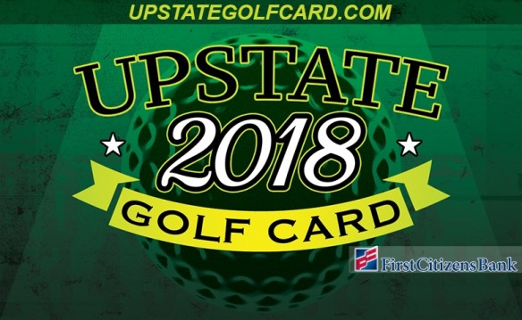 For only $99, play 180 holes of golf! That's less than $10 per round on 10 of the Upstate's best golf courses!