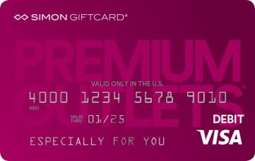 Visa® Simon Giftcard®: Premium Outlets®