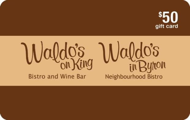 Waldo's $50 eGift