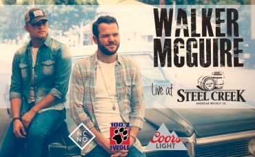 100.7 The Wolf's New Country Night Out With Walker McGuire at Steel Creek