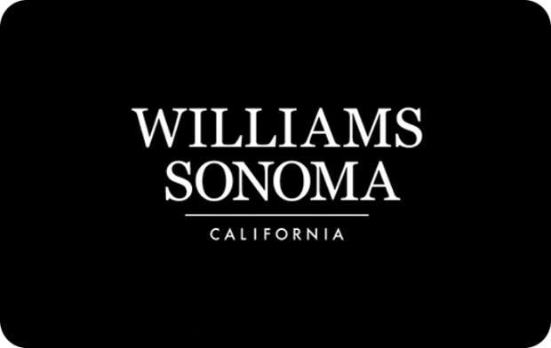 where can i use a williams sonoma gift card