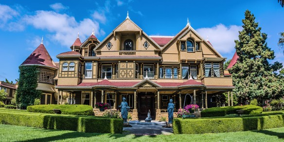 Winchester Mystery House Mansion Tour Start 8/3/17