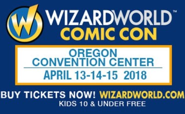 Half price Friday Admission or Exclusive Sunday Package for Wizard World Comic Con April 13th-15th