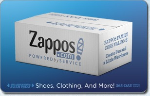 Zappos.com Egift Card